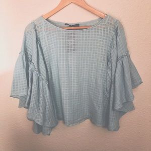 NWT Vince Camuto Belle Sleeve Blouse